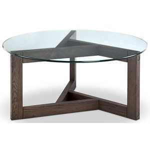 Magnussen Home Beck Round Cocktail Table