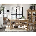 Magnussen Home Graham Hills Counter Height Table And 4 Stools - Item Number: D4281-42+4x84