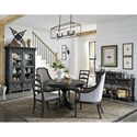 Magnussen Home Bedford Corners Casual Dining Room Group - Item Number: D4282 Dining Room Group 2