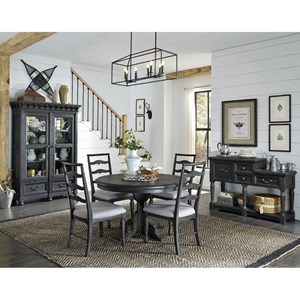 Magnussen Home Bedford Corners Casual Dining Room Group