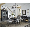 Magnussen Home Bedford Corners Casual Dining Room Group - Item Number: D4282 Dining Room Group 3