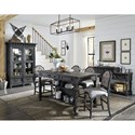 Magnussen Home Bedford Corners Casual Dining Room Group - Item Number: D4282 Dining Room Group 5