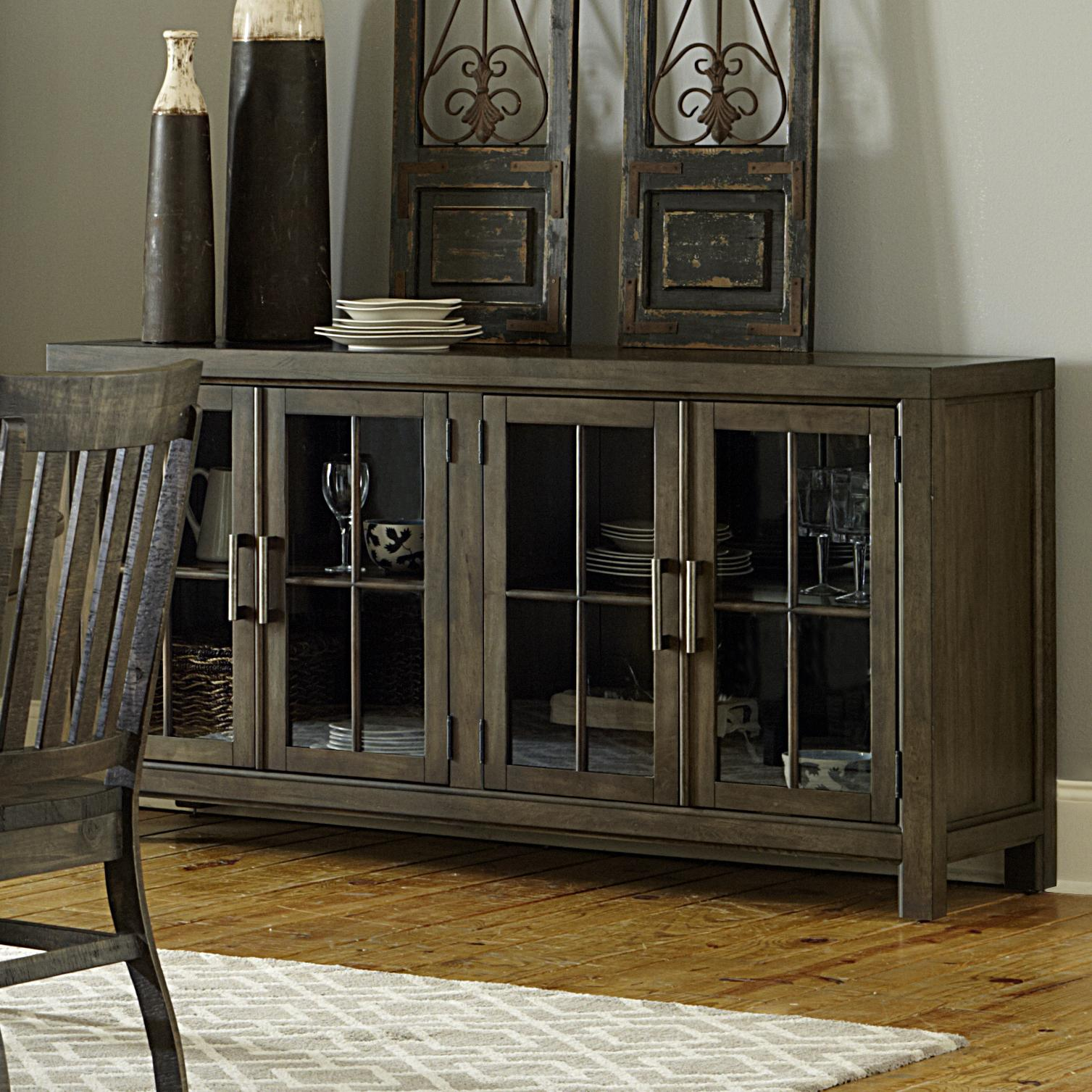 Magnussen Home Bellamy Buffet Curio - Item Number: D2491-04