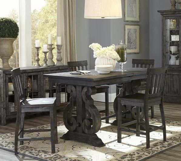 Magnussen Home Bellamy Counter Table Set - Item Number: GRP-D2491-COUNTERTBL 6