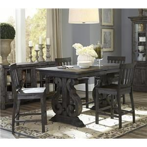 Magnussen Home Bellamy Counter Table Set