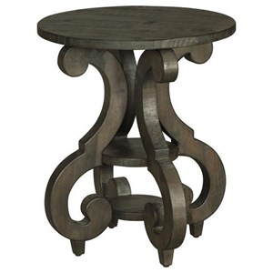 Magnussen Home Bellamy Round Accent End Table