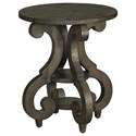 Magnussen Home Bellamy Round Accent End Table - Item Number: T2491-35