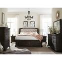 Magnussen Home Bellamy California King Storage Bedroom Group - Item Number: B2491 CK Bedroom Group 2