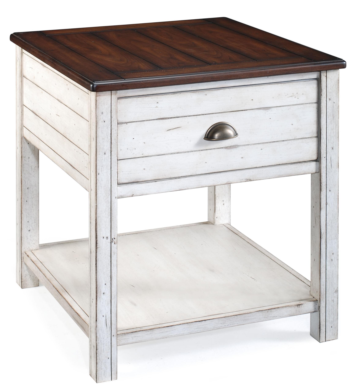 Magnussen Home Bellhaven Rectangular End Table - Item Number: T1556-03