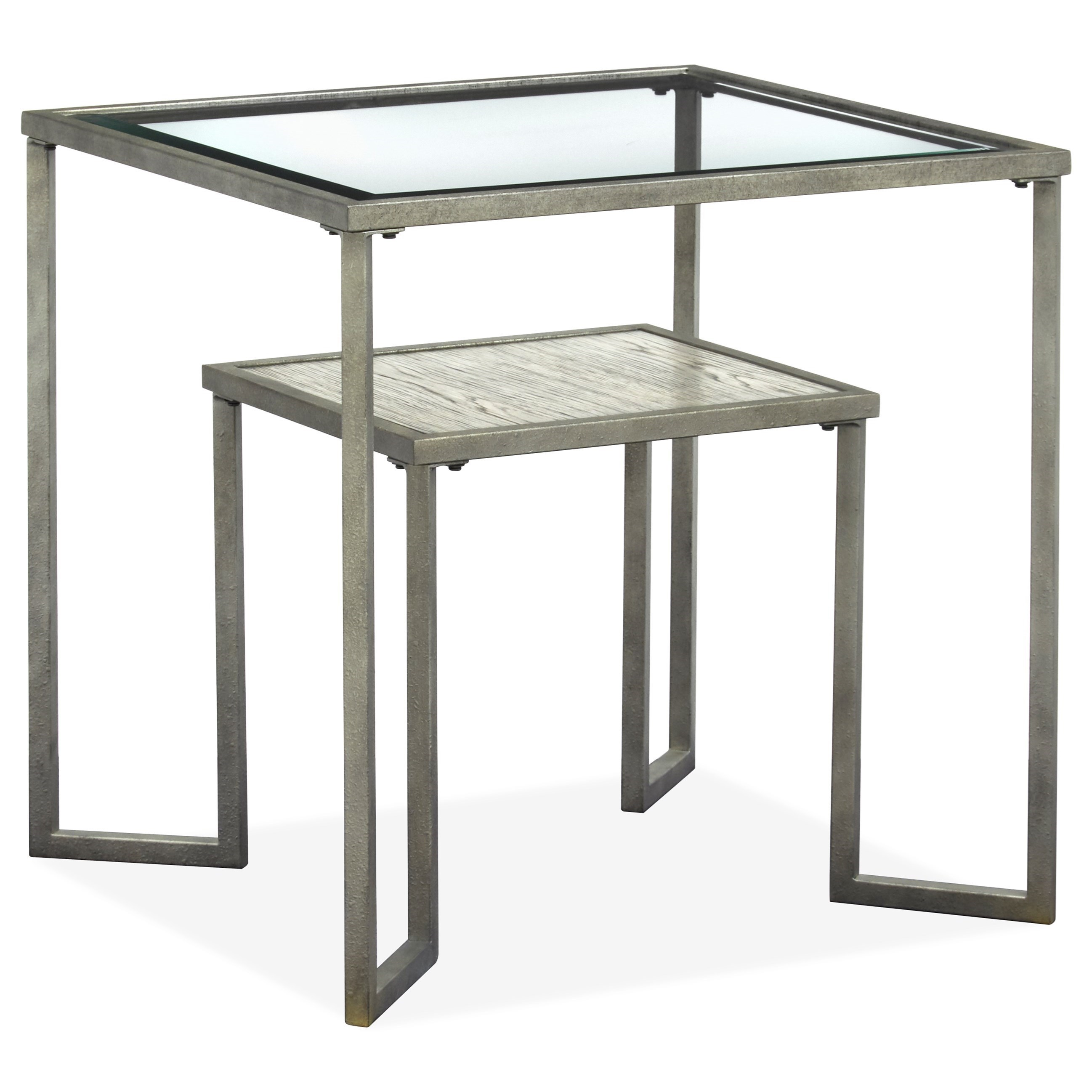 Bendishaw Square End Table by Magnussen Home at Baer's Furniture