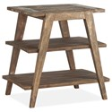 Magnussen Home Bluff Heights Shelf End Table - Item Number: T4597-02