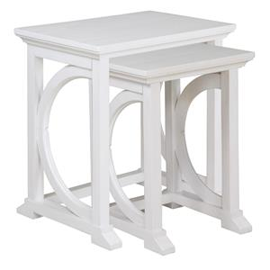 Magnussen Home Boathouse Nesting End Table