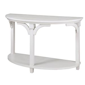 Magnussen Home Boathouse Demilune Sofa Table