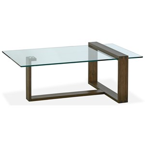 Magnussen Home Bristow Rectangular Cocktail Table