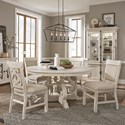 Magnussen Home Bronwyn 5-Piece Dining Table Set - Item Number: D4436-23+4x63