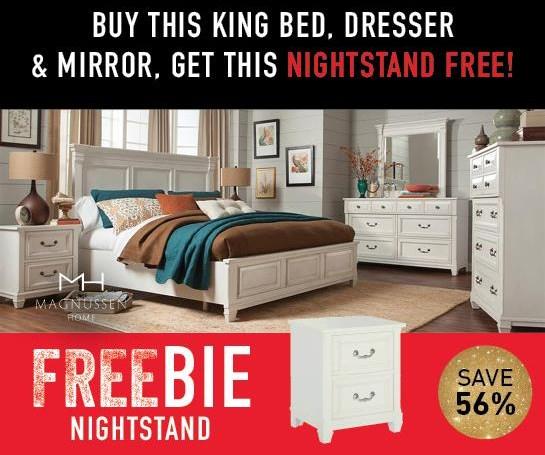 Blake Blake King Bedroom Package with FREEBIE! by Magnussen Home at Morris Home