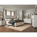 Magnussen Home Brookfield 5 Drawer Chest with Top Felt-Lined Drawer