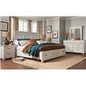 Magnussen Home Brookhaven 4PC Queen Bedroom Set - Item Number: B4056-4PC-QSBR