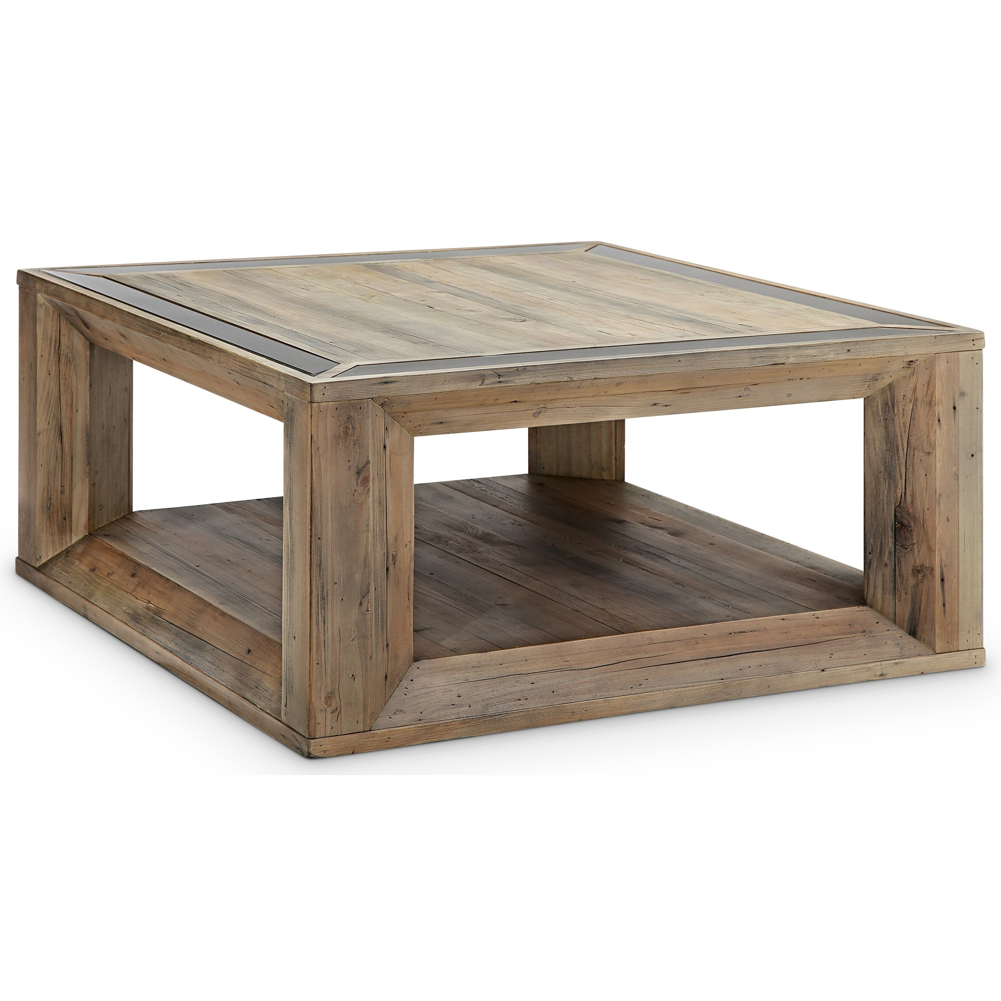 Square Cocktail Table with Casters