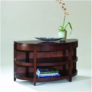 Magnussen Home Brunswick Demilune Sofa Table