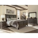 Magnussen Home Calistoga Queen Bedroom Group - Item Number: B2590 Q Bedroom Group 3
