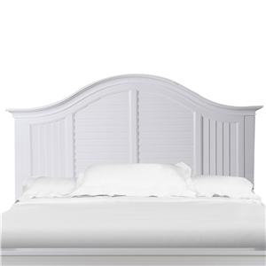 Magnussen Home Cape Maye King Panel Bed Curved Headboard
