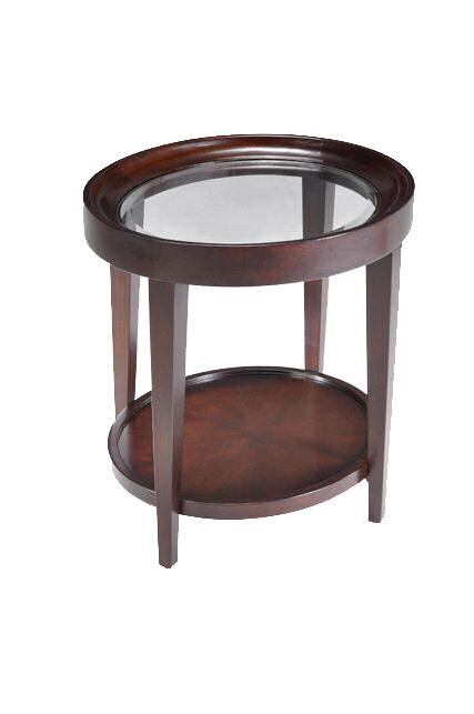Magnussen Home Carson  Oval End Table - Item Number: T1632-07