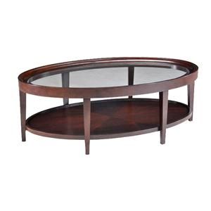 Magnussen Home Carson  Oval Cocktail Table