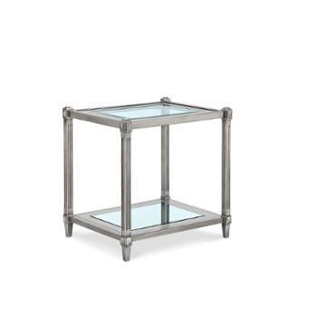 Morris Home Furnishings Chartres Chartres Square End Table - Item Number: 417233518