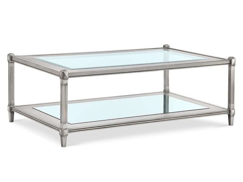 Morris Home Furnishings Chartres Chartres Rectangular Cocktail Table - Item Number: 738689404