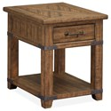 Magnussen Home Chesterfield End Table - Item Number: T4717-03