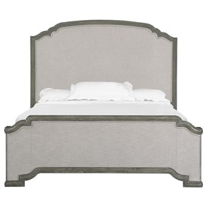 Magnussen Home Cheswick King Upholstered Panel Bed