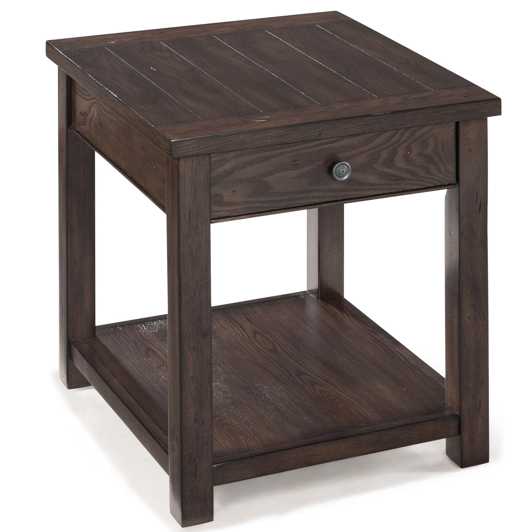 Magnussen Home Clayton Rectangular End Table - Item Number: T2741-03