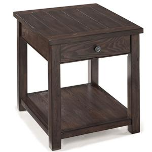 Magnussen Home Clayton Rectangular End Table