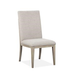Dining Side Chair with Upholstered Seat & Ba