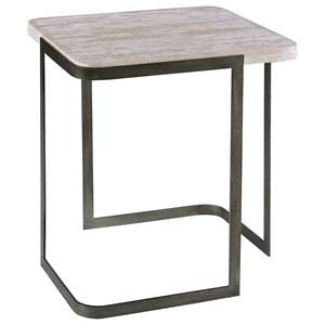 Magnussen Home Deaton Rectangular End Table