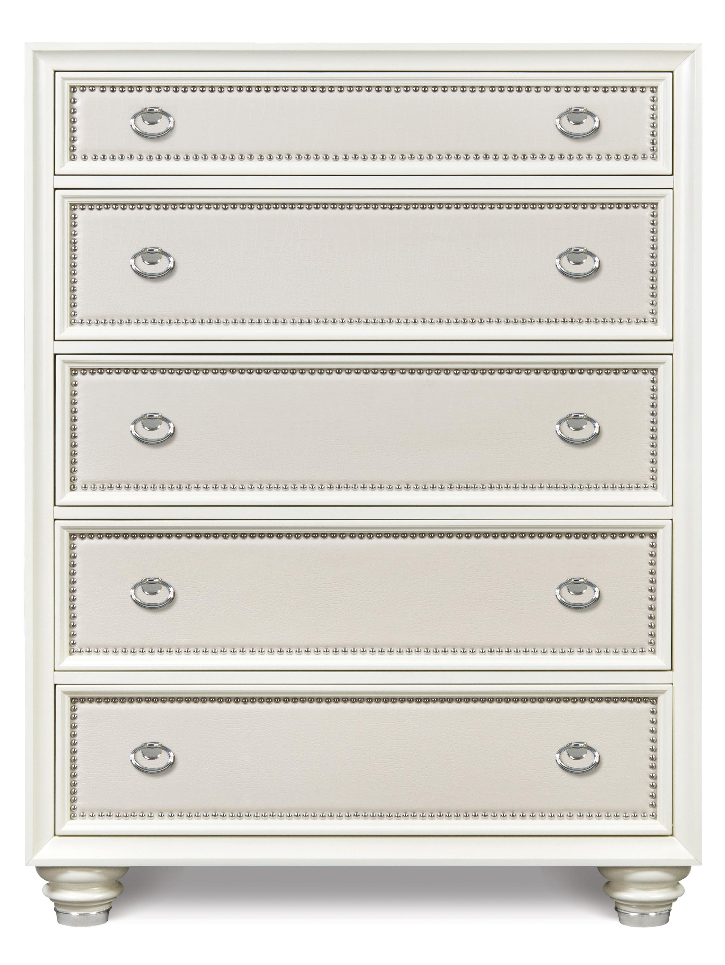 Magnussen Home Diamond Bedroom Drawer Chest - Item Number: B2344-10
