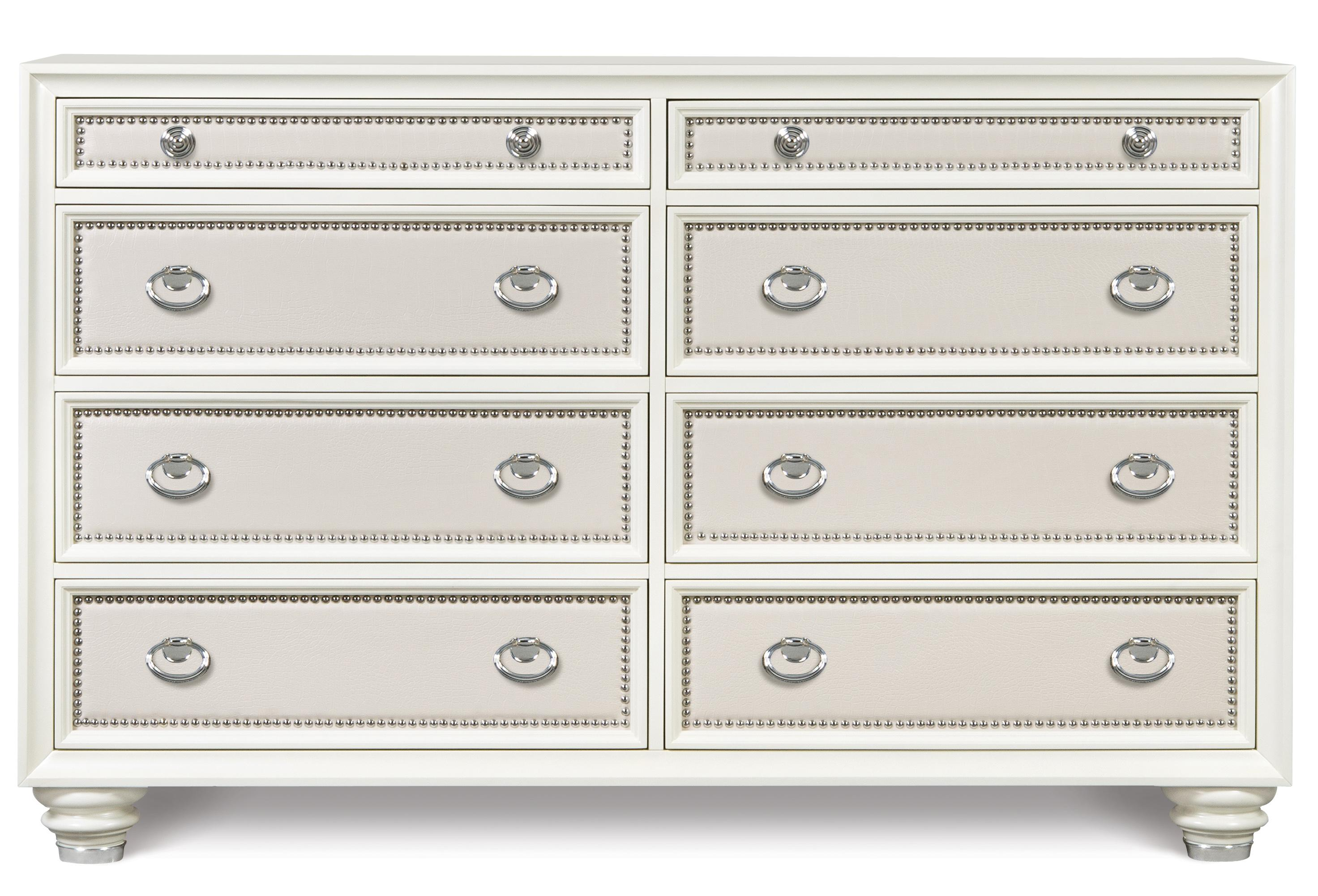 Magnussen Home Diamond Bedroom Drawer Dresser - Item Number: B2344-20