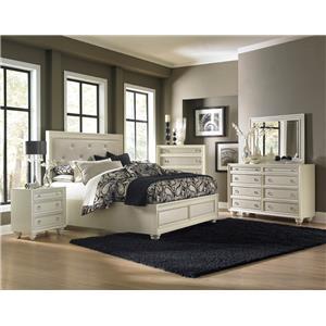 Magnussen Home Amelia 4-Piece King Bedroom Set