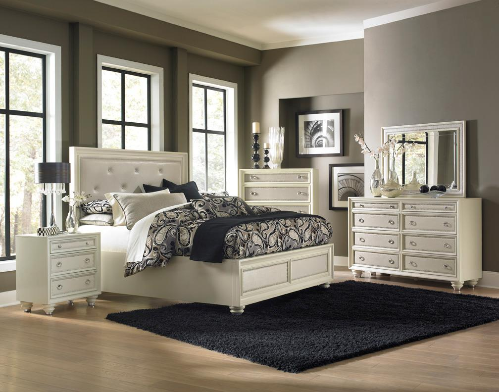 Magnussen Home Amelia 4-Piece Queen Bedroom Set - Item Number: B2344-QBR-4PC
