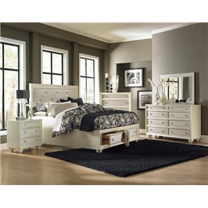 Magnussen Home Amelia 4-Piece Queen Storage Bedroom Set