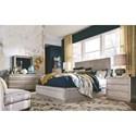Magnussen Home Pacifica Queen Bedroom Group - Item Number: 4771 Q Bedroom Group 4