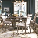 Magnussen Home Pacifica Table and Chair Set for Four - Item Number: D4771-26+4x64