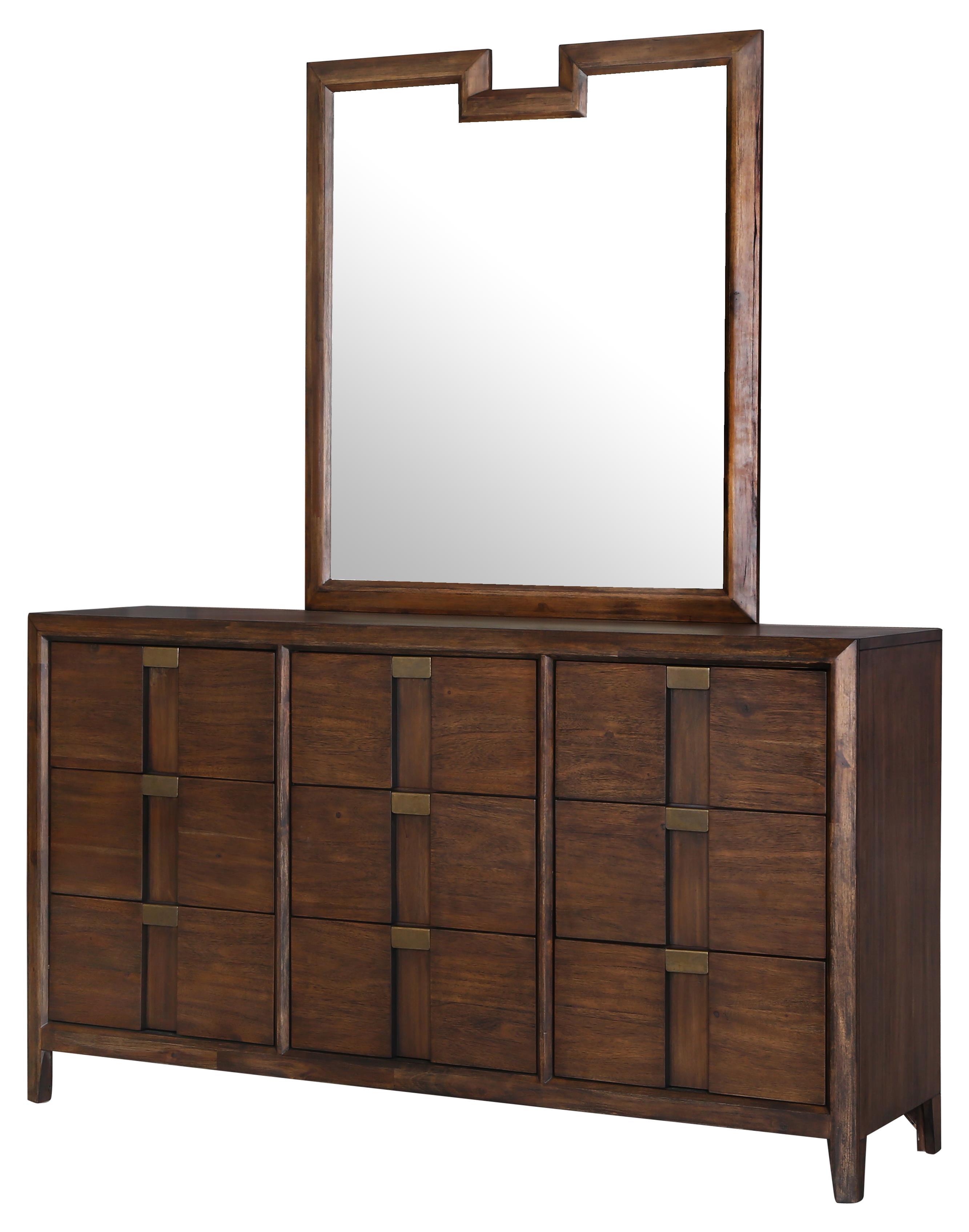 Belfort Select Echo Dresser and Mirror - Item Number: B3267-42+20