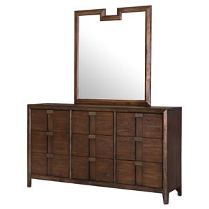 Belfort Select Echo Dresser and Mirror