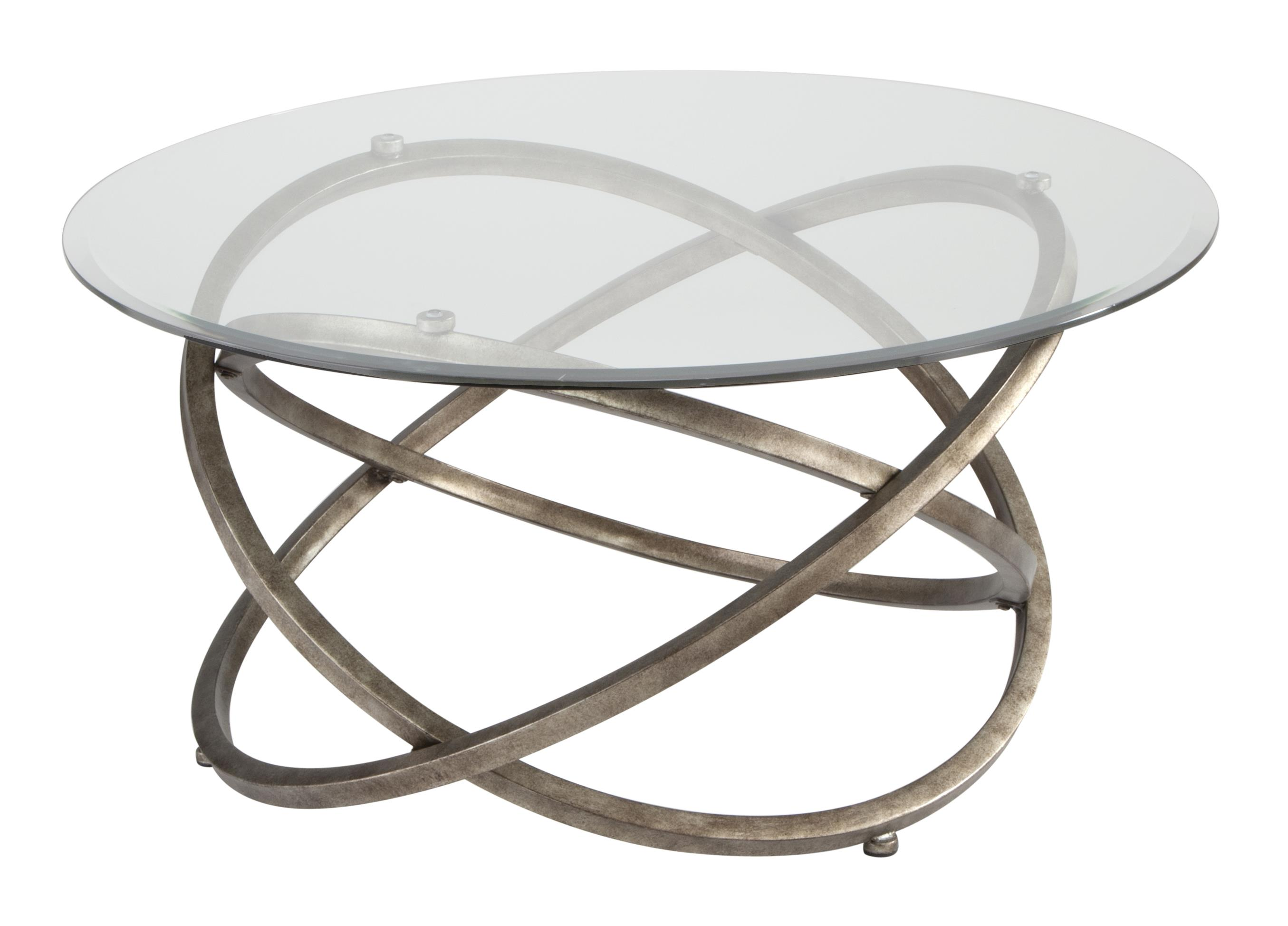Magnussen Home Escala Round Cocktail Table - Item Number: T3494-45