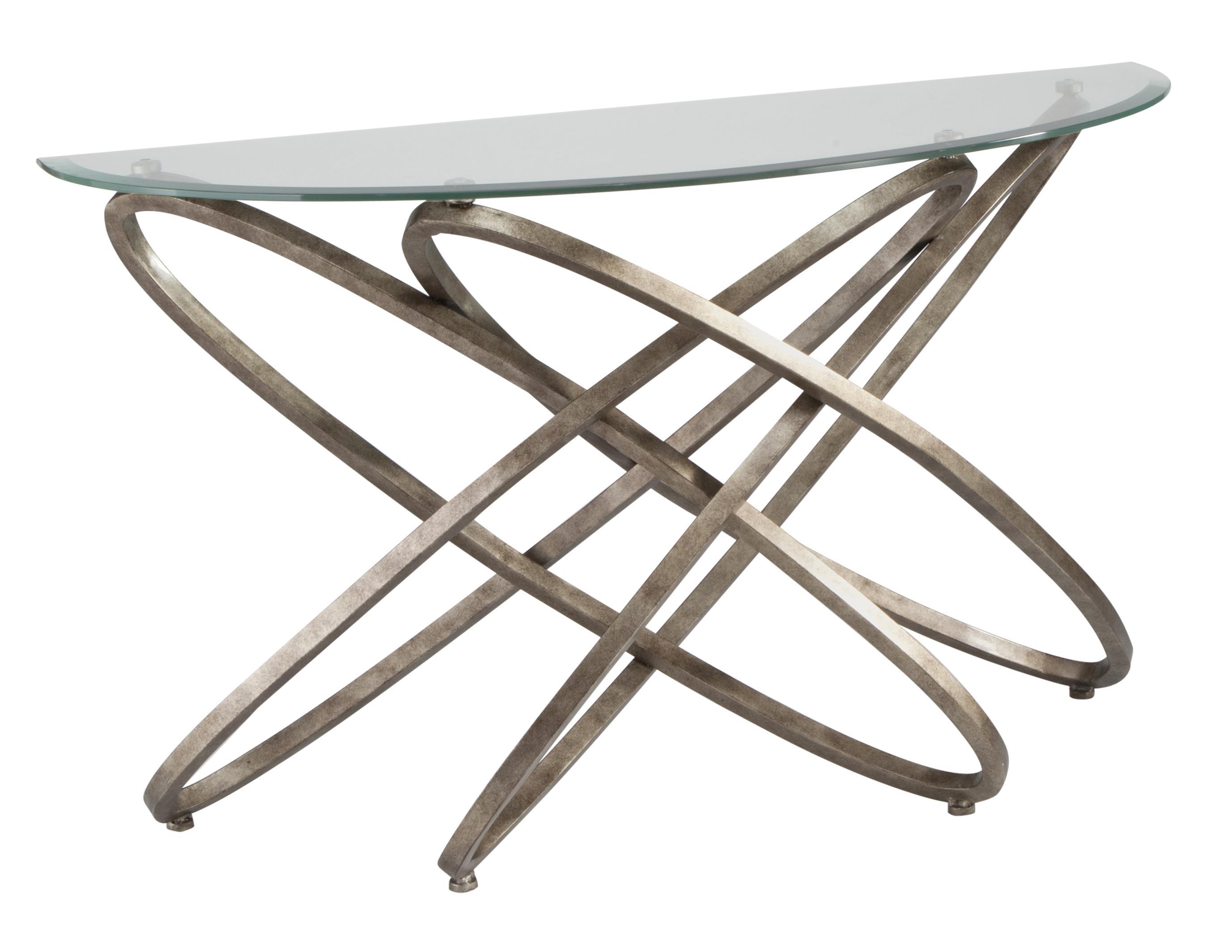 Magnussen Home Escala Demilune Sofa Table - Item Number: T3494-75
