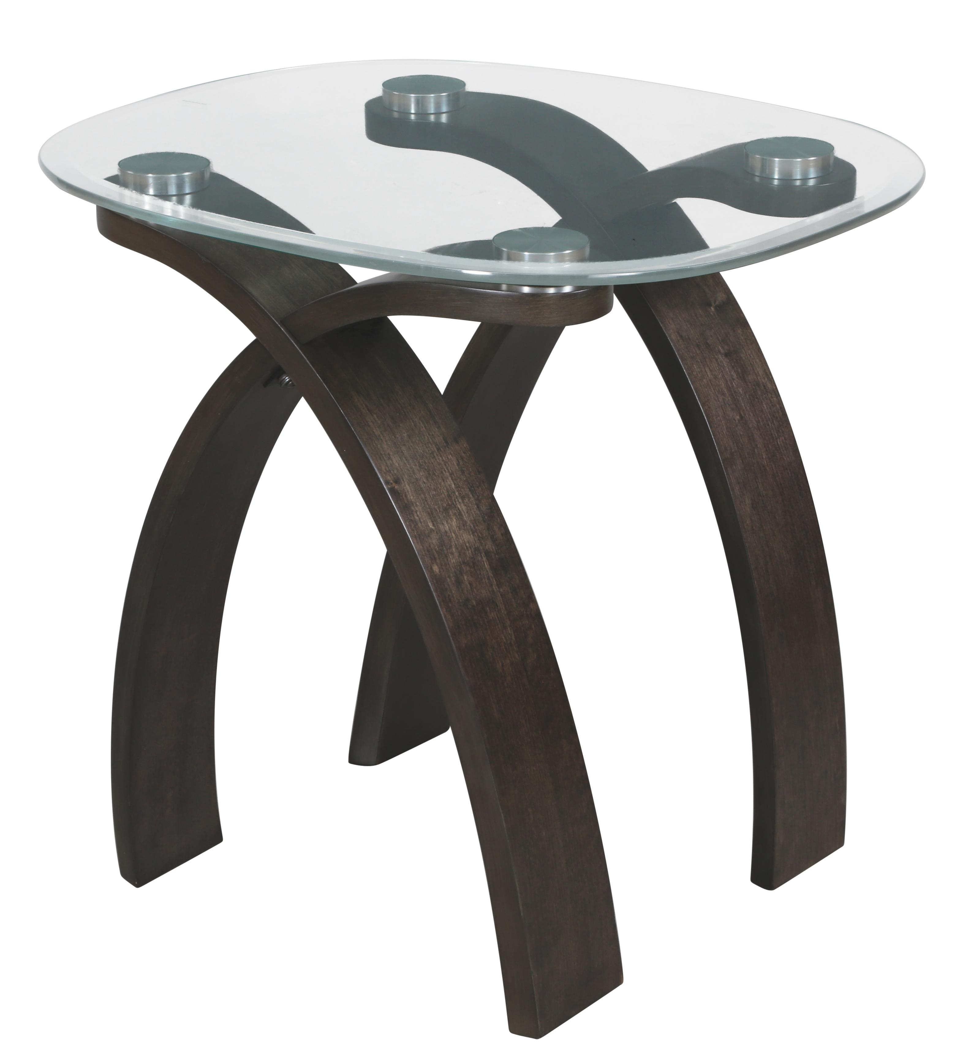 Magnussen Home Forum Oval End Table - Item Number: T2545-07B+07T
