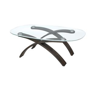 Magnussen Home Forum Oval Cocktail Table