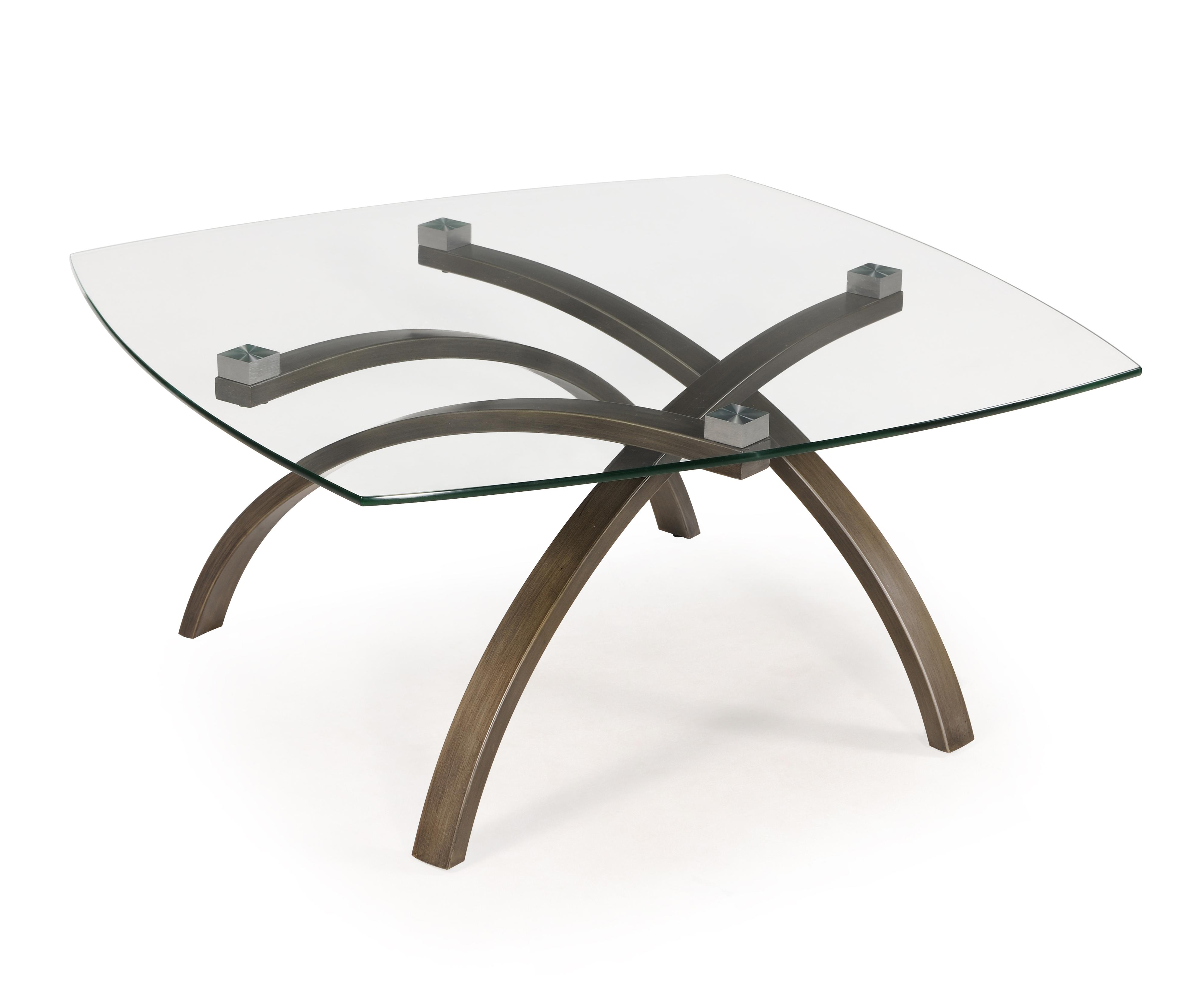 Belfort Select Frisco Square Cocktail Table - Item Number: T2700-41B+41T